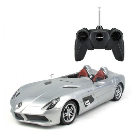 Снимка на Masinuta cu telecomanda Mercedes-Benz SLR McLaren, scara 1:12