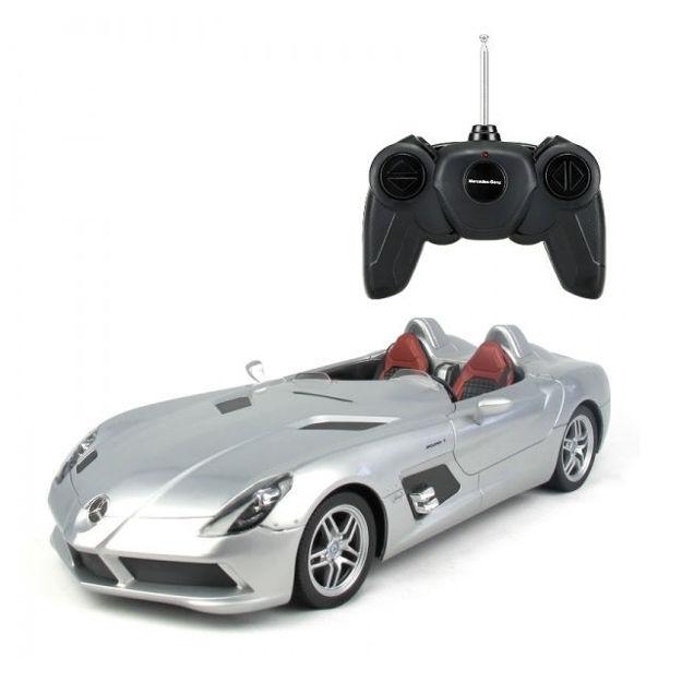 Poza cu Masinuta cu telecomanda Mercedes-Benz SLR McLaren, scara 1:12