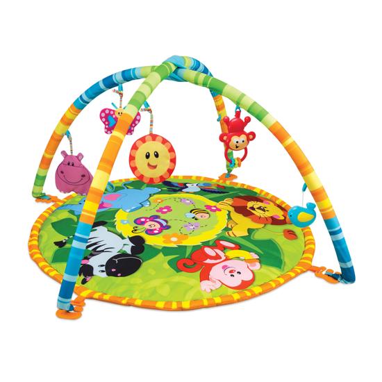 Снимка на Centru de activitati bebelusi Saltea cu arcade Winfun 0827 Animalele Junglei