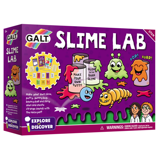 Снимка на Kit pentru experimente Galt - Slime lab