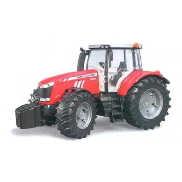 Poza cu Tractor Bruder Massey Ferguson 7600 03046