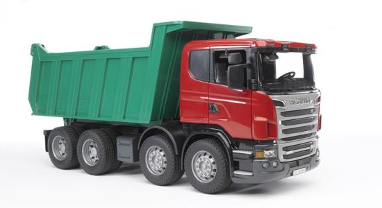 Poza cu Autobasculantă Bruder Scania R-Series 03550