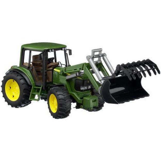 Снимка на Tractor Bruder John Deere 6920 cu încărcător frontal 02052