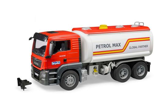 Poza cu Camion combustibil Bruder MAN TGS 03775