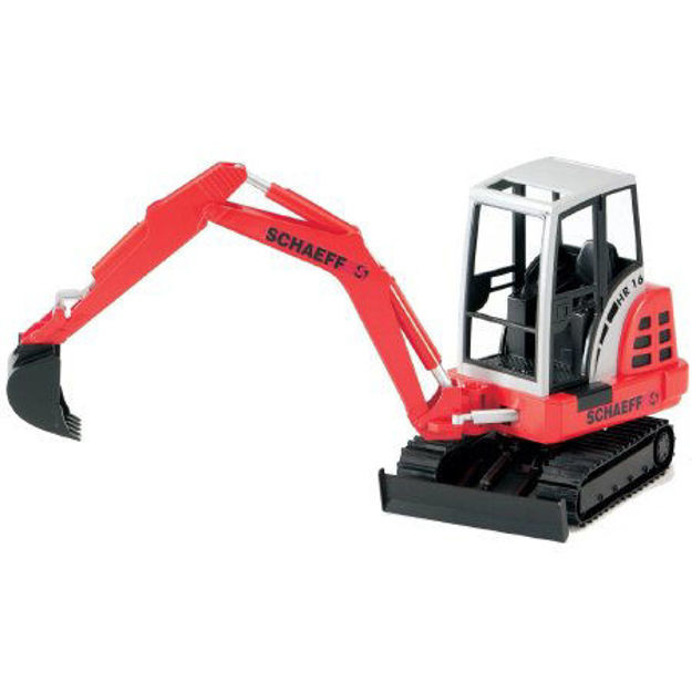 Снимка на Mini excavator Bruder SCHAEFF HR 16 02432