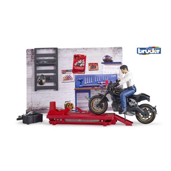 Снимка на Serviciu de motociclete Bruder Bworlds 62101 B