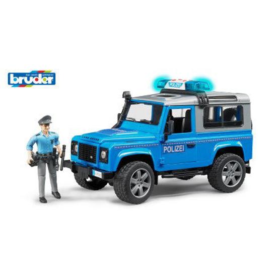 Снимка на Mașină de poliție Bruder Land Rover Defender cu poliție și echipamente 02597