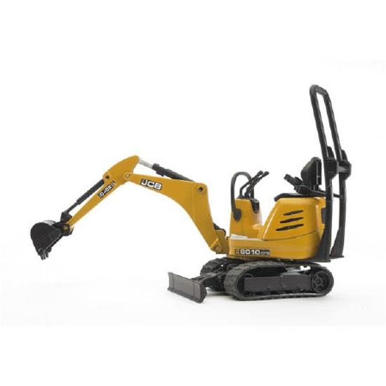 Снимка на Bruder Bworld - JCB Micro excavator 8010 CTS 62003 ieftin online