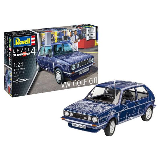 Снимка на Set model Revell VW Golf Gti Builders Choice 1:24 67673