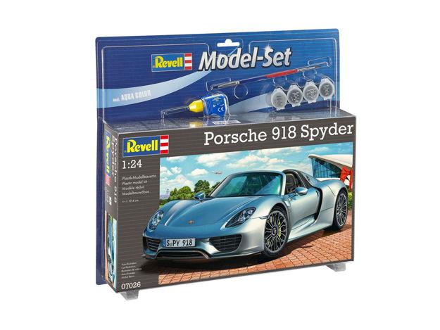 Poza cu Set model Revell Porsche 918 Spyder 1:24 67026