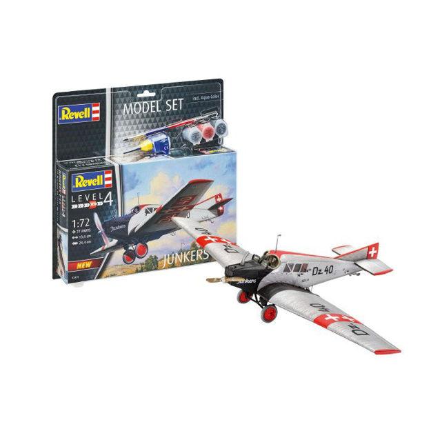 Снимка на Revell Model Set Junkers F13 1:72 63870
