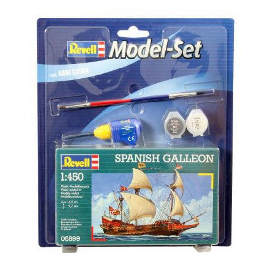 Снимка на Set model Revell Galion spaniol 1: 450 65899