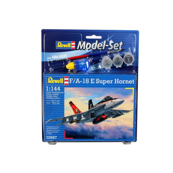 Снимка на Set model Revell F / A 18E Super Hornet 1: 144 63997