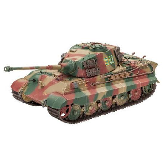 Снимка на Revell Tiger II Ausf B Turela Henschel 1:35 3249