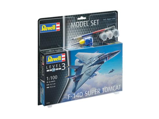 Снимка на Set model Revell F 14D Super Tomcat 63950
