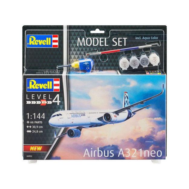 Снимка на Set model Revell Airbus A321 Neo 1: 144 64952