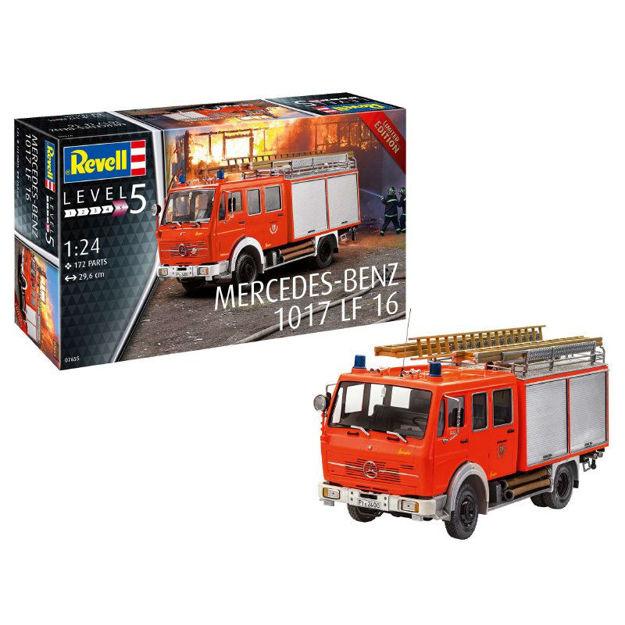Poza cu Revell Mercedes Benz 1017 LF 16 1:24 7655