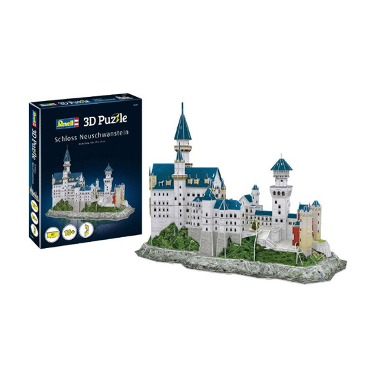 Снимка на Revell Neuschwanstein Castle 3D puzzle 00205