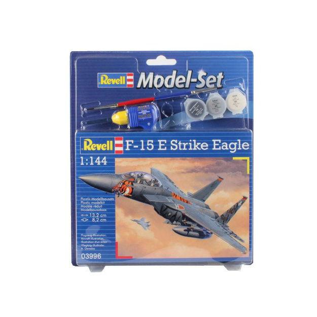Poza cu Set model Revell F 15E Strike Eagle 1: 144 63996