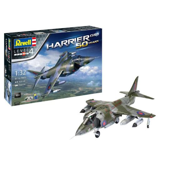 Снимка на Set cadou Revell Hawker Harrier GR Mk1 5690
