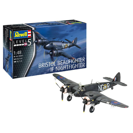 Poza cu Revell Beaufighter IF Nightfighter 1:48 3854