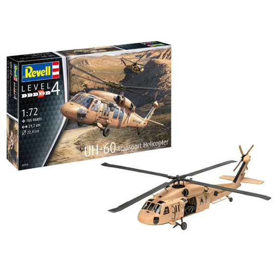 Снимка на Elicopterul de transport Revell UH 60 1:72 4976