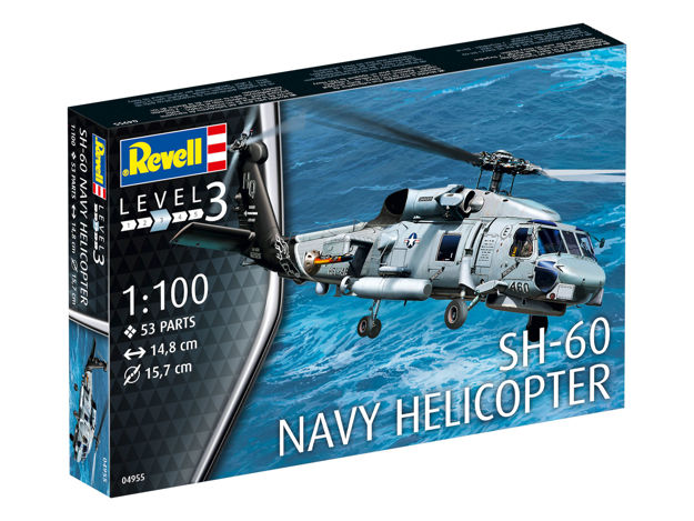 Poza cu Revell SH 60 Navy Helicopter 1: 100 4955