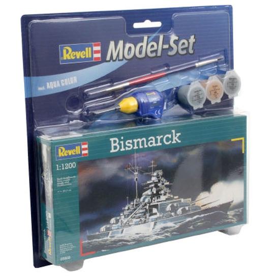 Poza cu Set model Revell Bismarck 1: 1200 65802