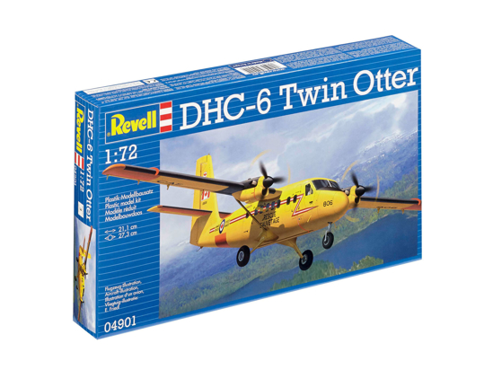Снимка на Revell DHC 6 Twin Otter 1:72 4901