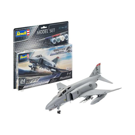 Снимка на Set model Revell F 4E Phantom 1:72 63651