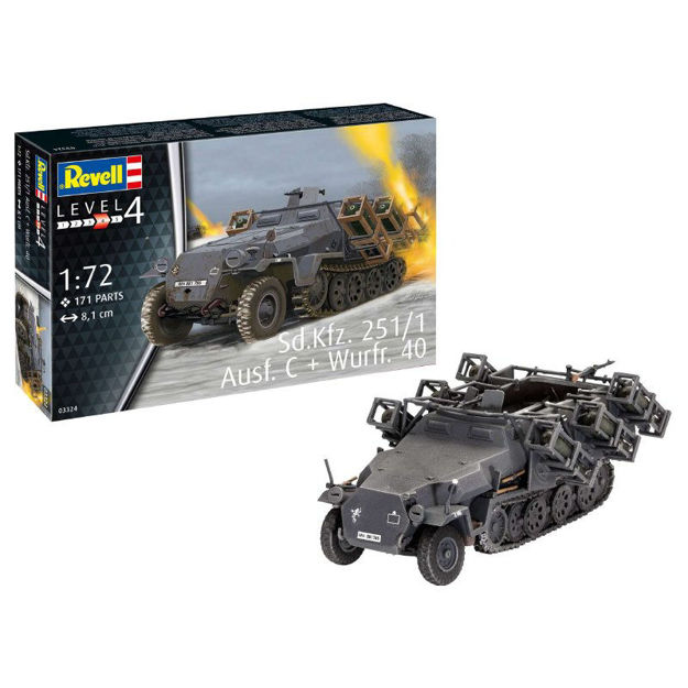 Poza cu Revell SdKfz 251/1 Ausf C and Wurfr 40 1:72 3324