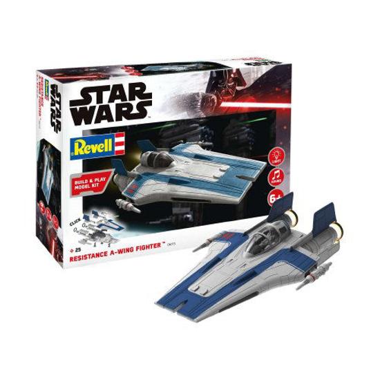 Снимка на Revell Star Wars Resistance A Warrior Fighter albastru 1:44 6773