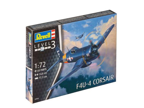 Снимка на Revell F4U 4 Corsair 1:72 3955