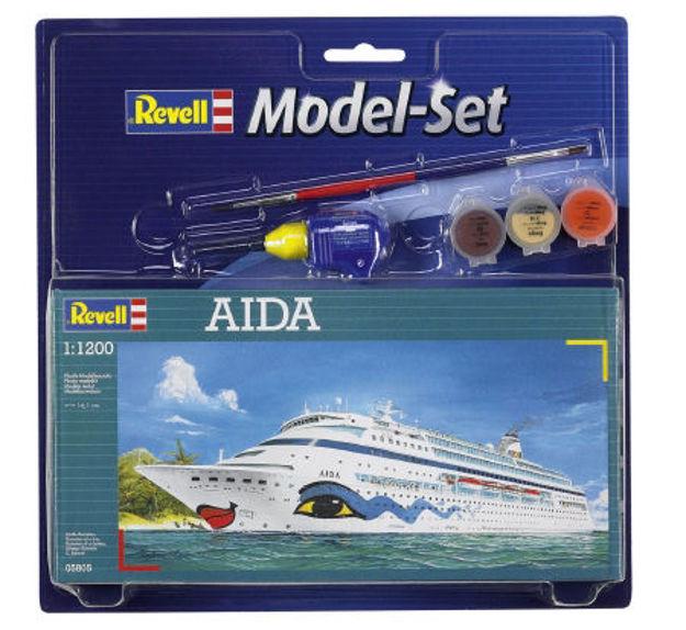 Снимка на Set model Revell Aida 1: 1200 65805