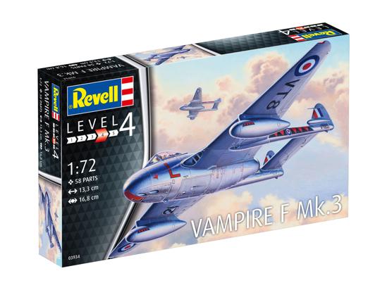 Снимка на Revell Vampire F Mark 1:72 3934