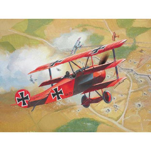 Poza cu Revell Fokker Dr 1 Triplane 1:72 4116