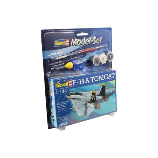 Poza cu Set model Revell F 14A Tomcat 1: 144 64021