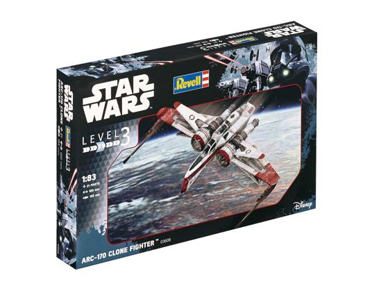 Снимка на Revell Star Wars ARC 170 Star Hunter 3608
