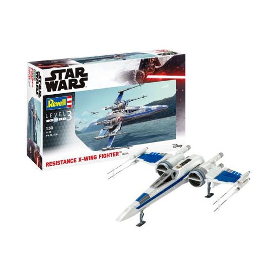 Poza cu Set model Revell Star Wars Resistance X wing Fighter 66744