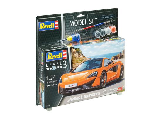 Снимка на Set model Revell McLaren 570S 1:24 67051