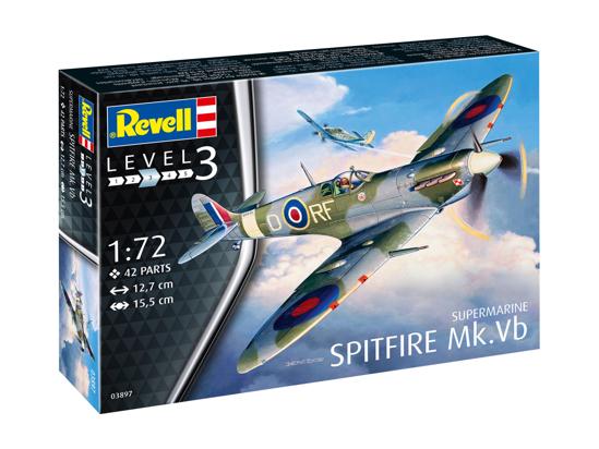 Снимка на 3897 Revell Spitfire Mk Vb 1:72