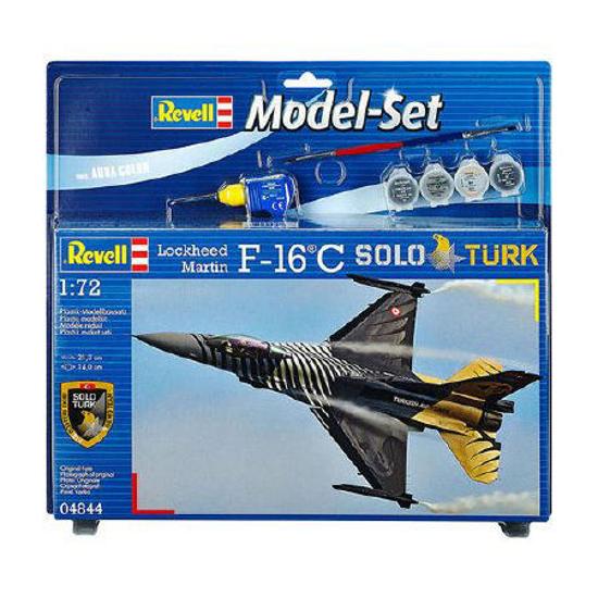 Poza cu Set model Revell Lockheed Martin F 16 C Solo Türk 1:72 64844