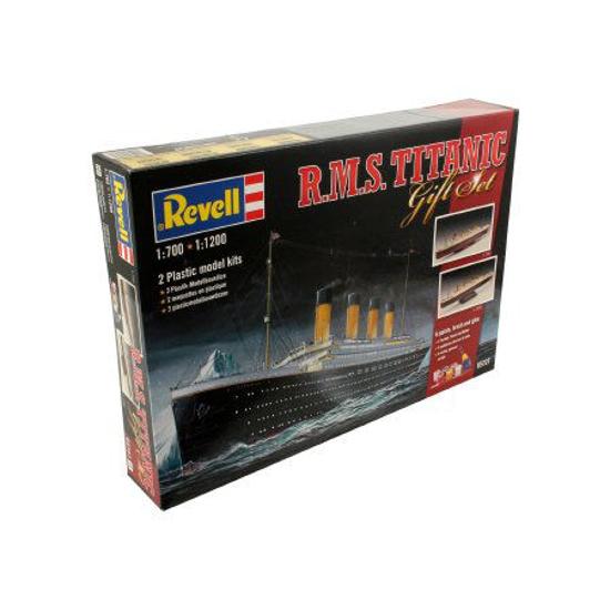 Poza cu Set cadou Revell RMSTitanic 1: 700 și 1: 1200 5727