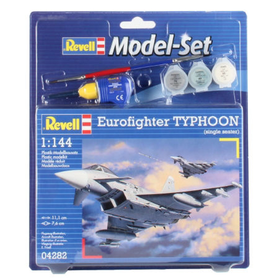 Poza cu Set model Revell Eurofighter Typhoon Single Seater 1: 144 64282
