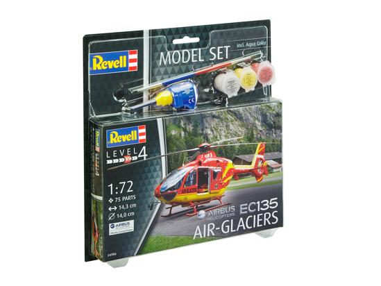 Снимка на Set model Revell EC 135 Air Glaciers 1:72 64986