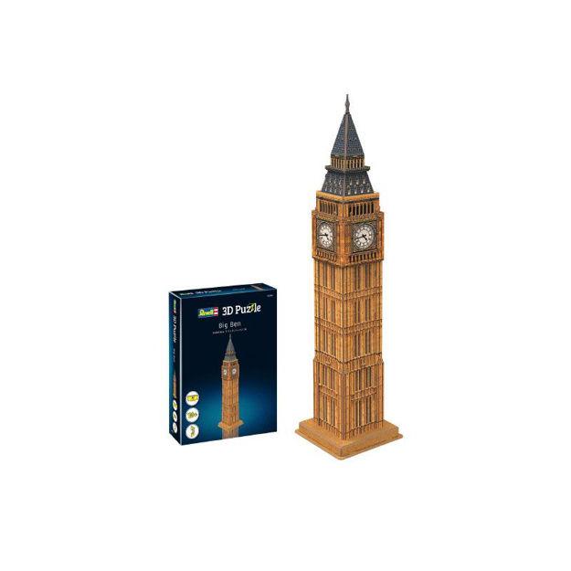 Poza cu Revell Big Ben 3D puzzle 00201