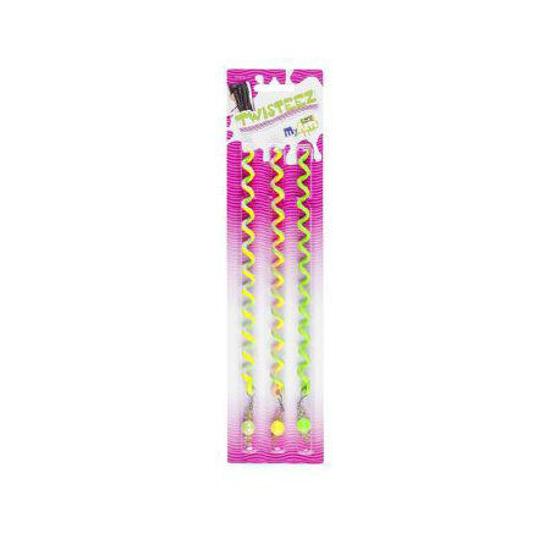 Снимка на Revell MyArts Twisteez Ornament de păr pentru fetițe 20cm 3buc verde 30835