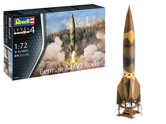 Снимка на Revell German A4: V2 Rocket 1:72 3309