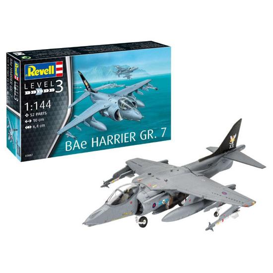 Poza cu Revell BAe Harrier GR7 1: 144 3887