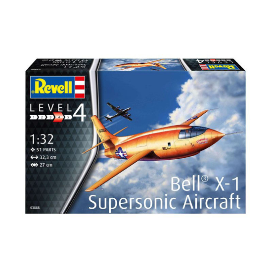 Poza cu 3888 Revell Bell X 1 1 Supersonic 1:32